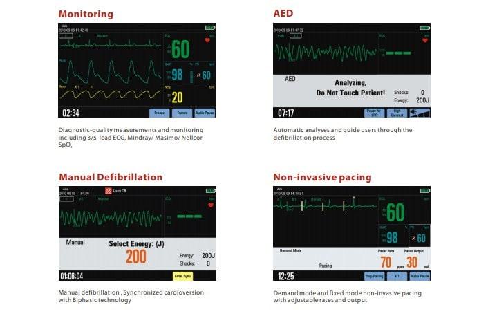 spesifikasi defibrillator mindray d3