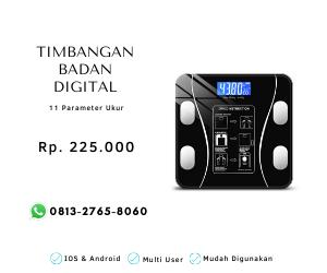 timbangan badan digital
